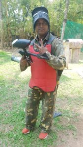prince kumar paintball